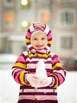 София и снеговичок