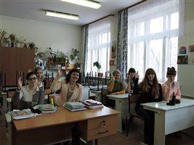 9-тиклассники вспомнили первый класс!!!