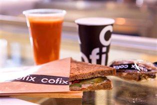 Первая кофейня Cofix в Москве: всё - по 50 рублей