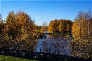 Осень в Костроме