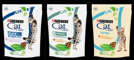 Новый Purina® Cat Chow® для природной активности кошек