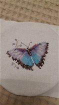 Бабочка от Алисы голубая