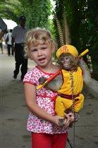 Дама с обезьянкой