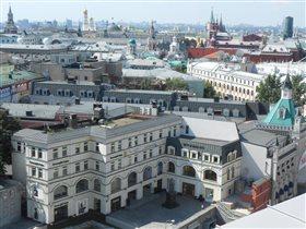 Москва с высоты птичьего полёта!