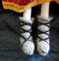 Носочки крупнее :)