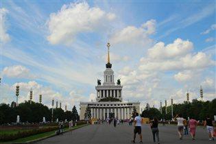 В Москве-Лето!!!ВДНХ!