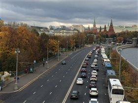 Москва. Осень пришла....
