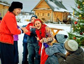 Новогодние каникулы и рождественская ярмарка  в этнографическом парке-музее 'ЭТНОМИР'