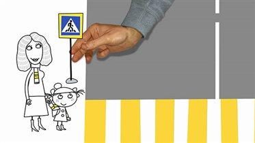 Госавтоинспекция выпустила новые видеоролики для пешеходов и водителей