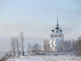 Зима пришла в Сольвычегодск