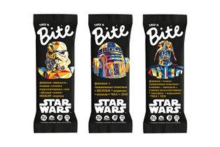 'Изгой-один: Звёздные Войны. Истории'. Новый фрукто-ореховый батончик Bite Star Wars к премьере