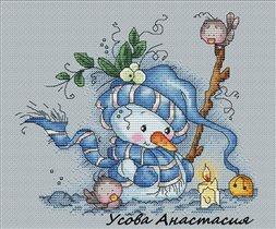 Снеговичок Анастасии Усовой
