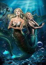 Новогоднее театрально – цирковое шоу на воде «Тайна подземного моря»