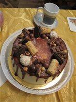 Тортик на День рождения папы Жени