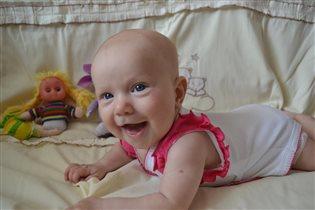 Лилия 4 месяца