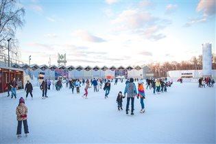 Свободный вход на каток 'Лед' в Сокольниках 24 декабря - для ярких людей