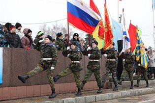 День защитника Отечества во Дворце Пионеров