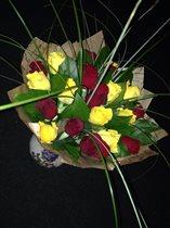 Влюбленные розы