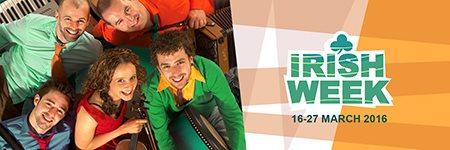 IRISH WEEK 2016 пройдет в Москве c 16 по 27 марта