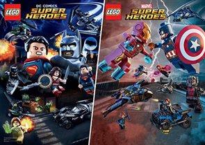Новинки серии LEGO® Super Heroes: битвы супергероев