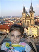 Машуля в Праге