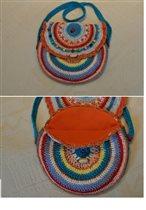 Радужная сумочка для девочки. Цена 200р