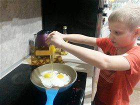 Яичко превращается... в аппетитный ужин