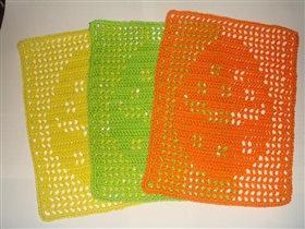Салфетки пасхальные 14.5см х 19.5см Цена 200 руб