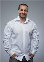Шикарная белая рубашка М XXXL(56-58)