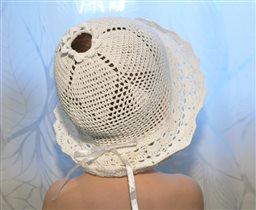 Романтичная летняя шляпка,р-р 50-54 .Цена 100р