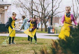 Веселые субботники в московских парках 23 апреля