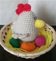 Пасхальное гнездо. Цена 100 р.