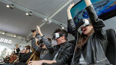 Первый кинотеатр виртуальной реальности Samsung в 'Метрополисе'