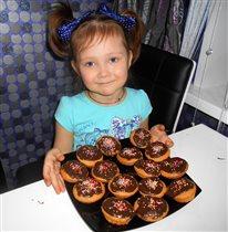 Шоколадные кексы!