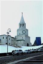 Кремль. Спасская башня