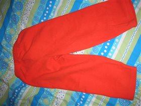 флисовые позитивные штаны -новые, 4-5лет