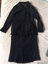 Черный костюм sultanna frantsuzova, р.XS