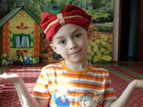 наша шапка на конкурс шляп в детском саду!