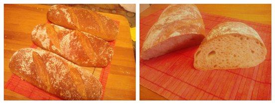 Хлеб на пшенично-ржаной закваске 3 штуки, 100 руб