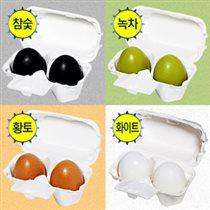 Новое Мыло-маска Holika Egg soap.Красное Цена 100р