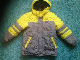 Куртка Керри зимняя 122 размер   1000 руб.