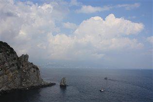 Крым. Ялта. Вид с Ласточкиного Гнезда