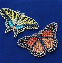 Бабочки милл-хилл
