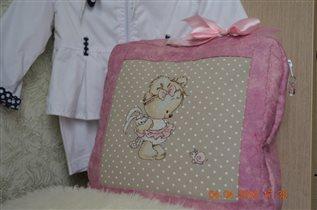 сумочка-подушка