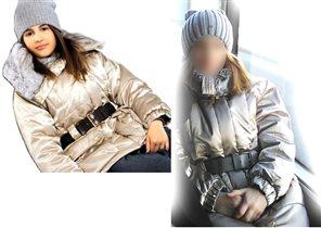 куртка Wоjcik с поясом р 152. Цена 200р