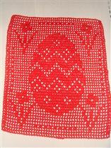 Салфетка пасхальная 24 см х 30см Цена 100 руб