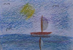 Черное море от Агаты (8лет)