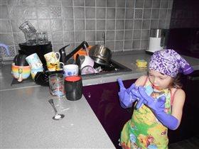 Моя любимая помошница по хозяйству!