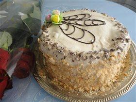 Торт 'Монастырская изба'