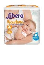 Подгузники для новорожденных Libero Newborn